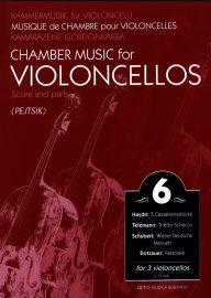 Chamber music for cellos vol.6 image