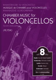 Chamber music for cellos vol.8 image