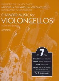 Chamber music for cellos vol.7 image