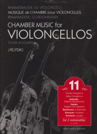 Chamber music for cellos vol.11 image