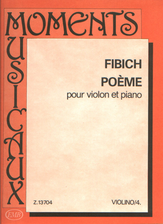 Fibich Poeme Online Sheet Music Shop Of Editio Musica