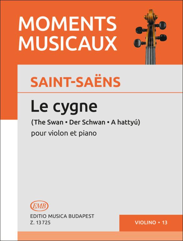 Saint-Saëns: The Swan – Online sheet music shop of Editio Musica