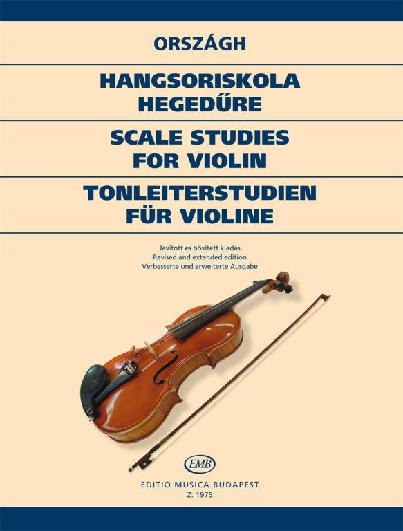 Országh: Scale Studies for violin – Online sheet music shop