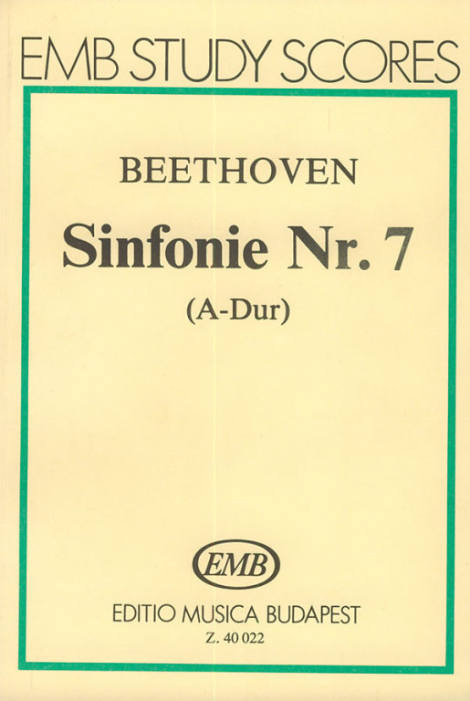 Beethoven: Symphony No  7 in A major – Online sheet music shop of