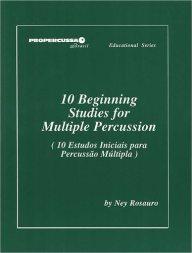 9a28b083e978e3 ROSAURO  10 Beginning Studies for Multiple Percussion – Online sheet ...