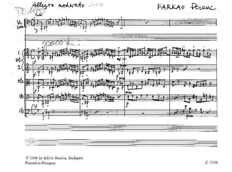 Farkas Trittico Concertato Online Sheet Music Shop Of